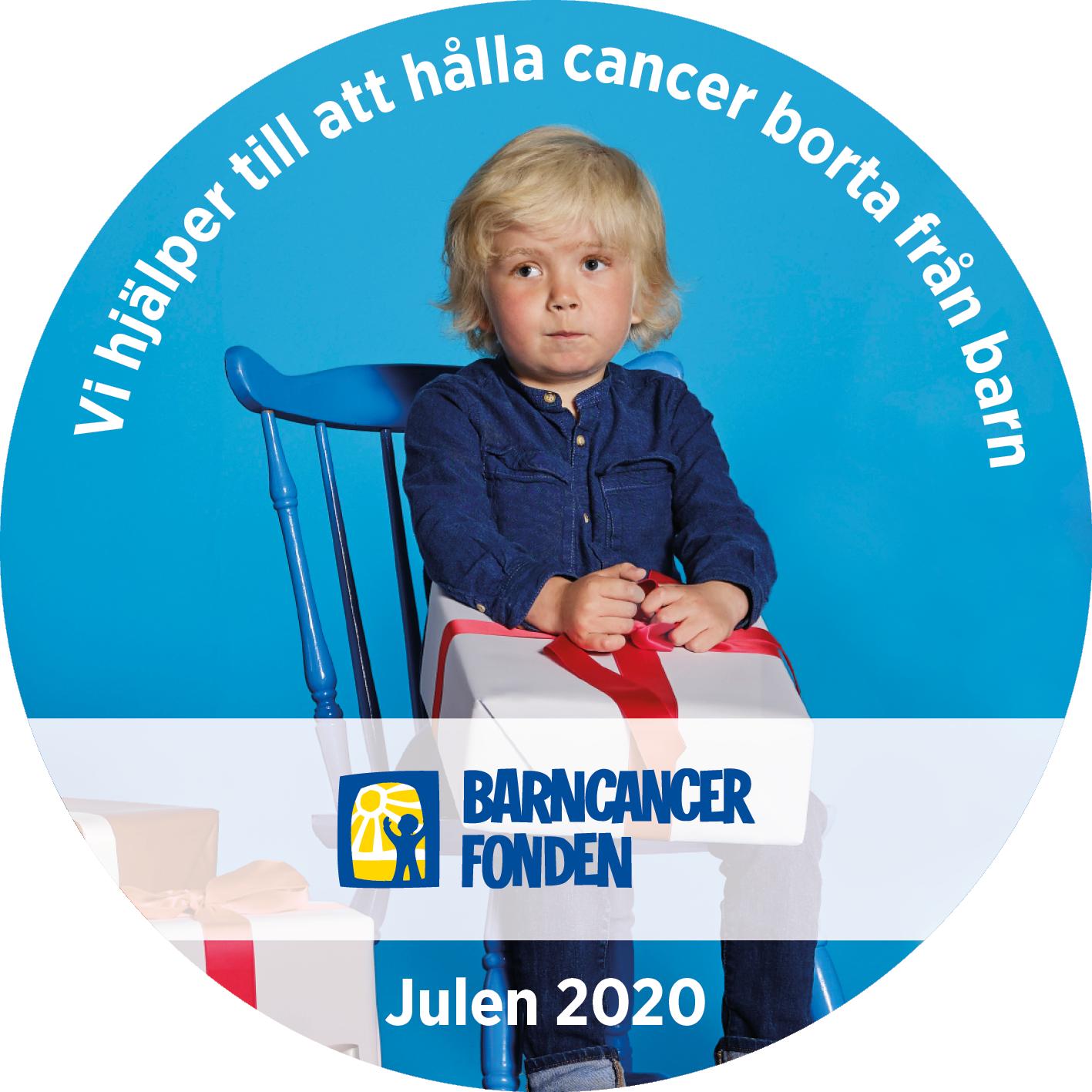 Sanmix stödjer Barncancerfonden